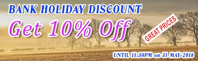 10% Discount Banner