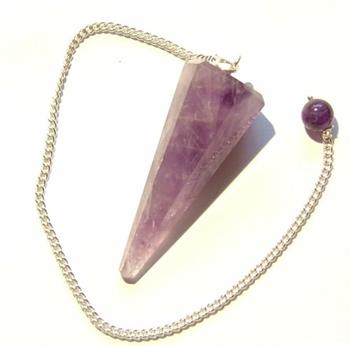 Picture of Pendulum 'Hexagonal' Cut - Amethyst