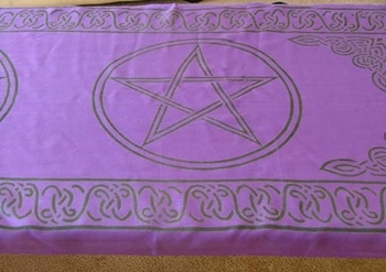 Picture of Altar Cloth - Pentacle (Runner)