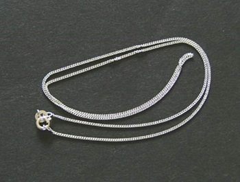 Picture of Medium Trace Chain (18 inch) - Sterling Silver