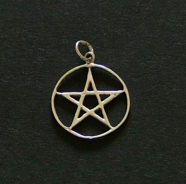 Picture of Pentacle - Simple (Sterling Silver)
