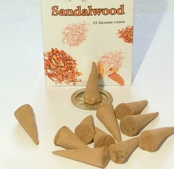 Picture of Sandalwood Incense Cones
