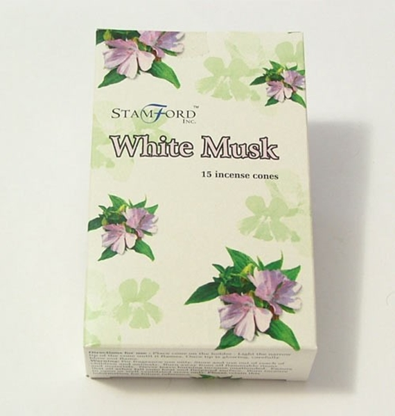 Picture of White Musk Incense Cones