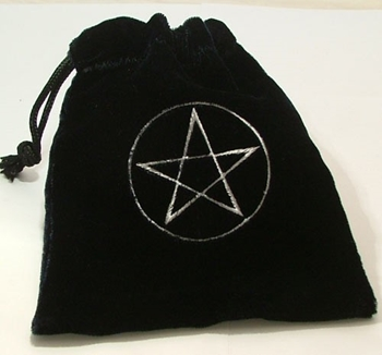 Picture of Tarot Bag - Pentacle (Black)
