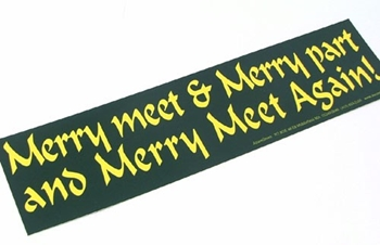 Picture of Bumper Sticker - Merry Meet