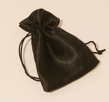 Picture of Satin Pouch - Black (Sml)