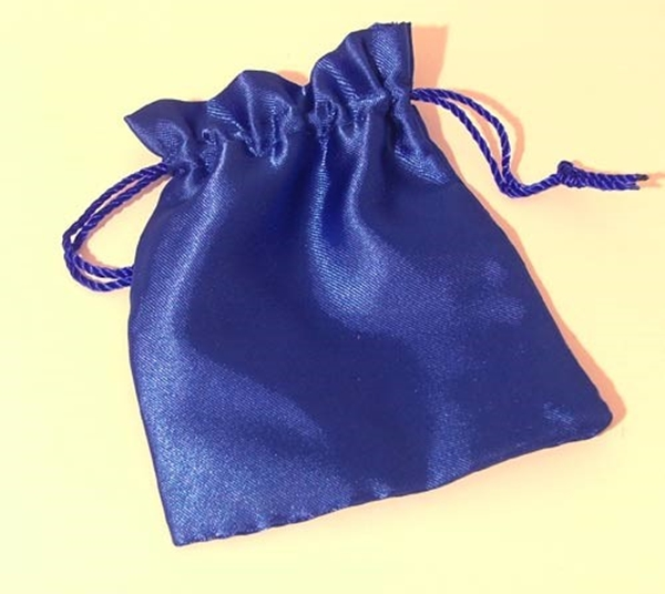 Picture of Satin Pouch - Royal Blue (Lrg)