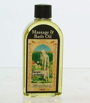 Picture of Massage and Bath Oil - Sleepy Lavender (100ml)
