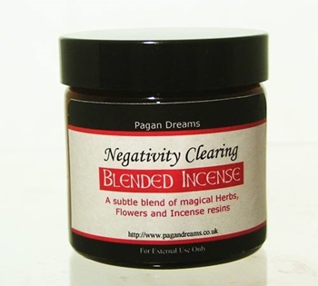 Picture of Clear Negativity Incense (60ml Jar)