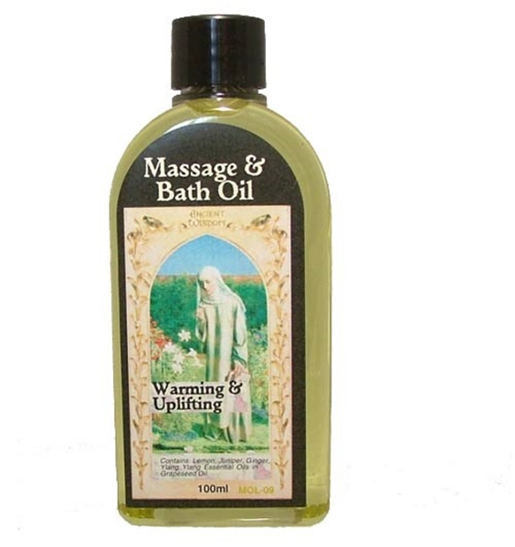 Picture of Massage and Bath Oil - Warming and Uplifting