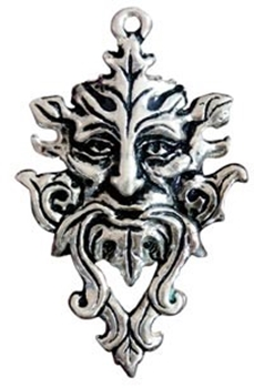 Picture of Green Man - Planetary Energy (Sterling Silver)