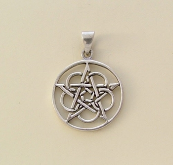 Picture of Celtic Pentacle - Eternity (Sterling Silver)