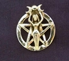 Picture of Lunar Goddess Pentacle (Sterling Silver)
