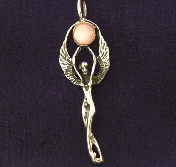 Picture of Winged Goddess - Sterling Silver