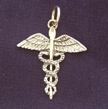 Picture of Caduceus - Sterling Silver