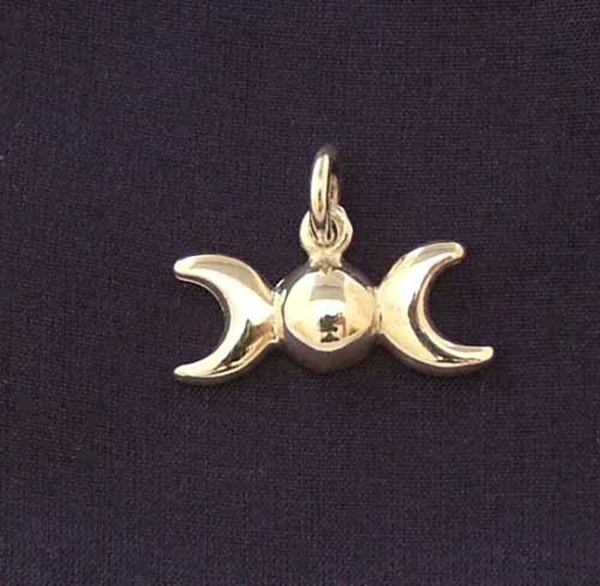 Picture of Triple Moon - CharmPendant (Sterling Silver)