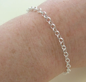 Picture of Bracelet - Belcher Chain (Sterling Silver)