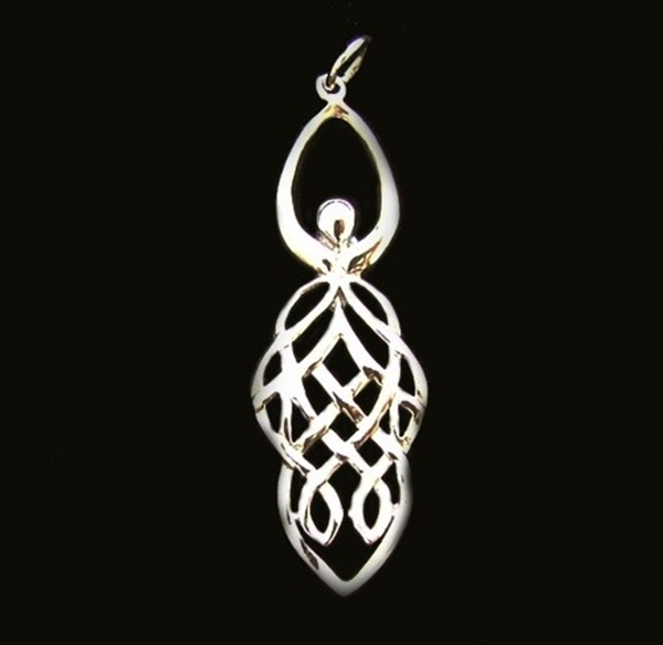 Picture of Celtic Goddess Pendant (Sterling Silver)