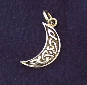 Picture of Crescent Moon CharmPendant (Sterling Silver)