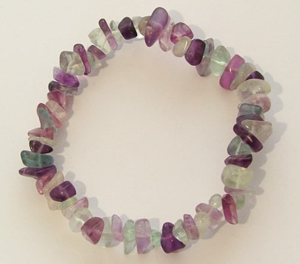 Picture of Fluorite - Gemstone Chip Bracelet