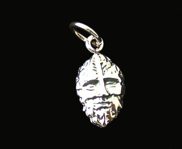 Picture of Green Man CharmPendant (Sterling Silver)