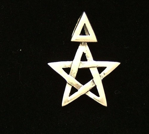 Picture of 3rd Degree Pentagram - Sterling Silver