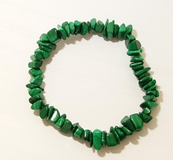 Picture of Malachite - Gemstone Chip Bracelet