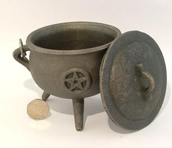 Picture of Cauldron (Pentacle) - 11cm