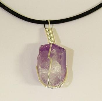 Picture of Amethyst Chunks (Rough) Pendant