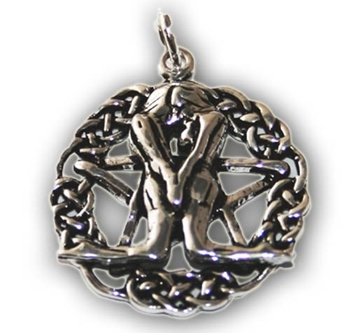 Picture of Handfasting  Pendant - Sterling Silver
