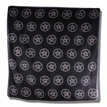 Picture of Altar Cloth Multi Pentacles (40x40 inches)