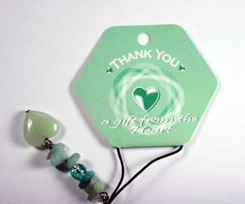Picture of Phone Charm 'Thank You'