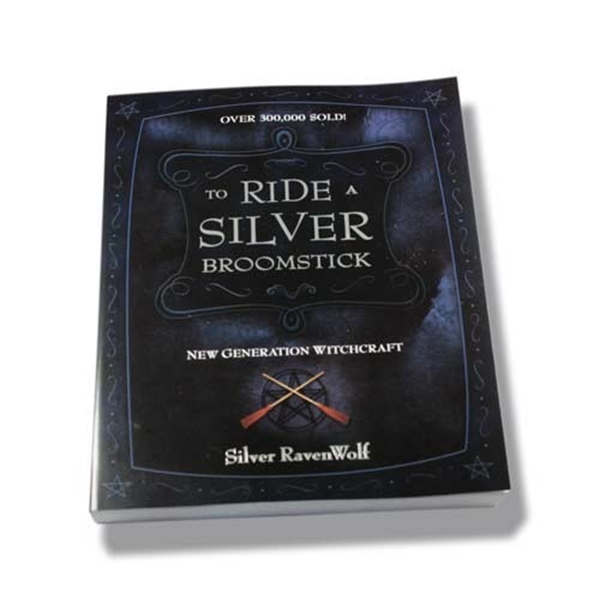 Picture of To Ride a Silver Broomstick - Silver RavenWolf