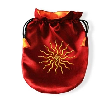 Picture of Tarot Bag - Sunstar ( Red Satin)