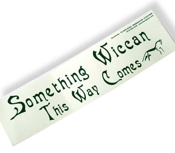 Picture of Something Wiccan...Bumper Sticker