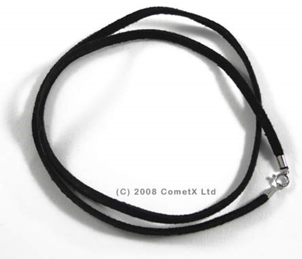 Picture of Suede CordChoker (18inch) Black
