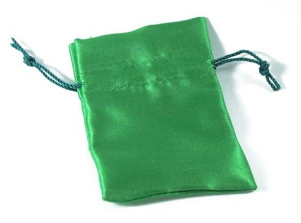 Picture of Satin Pouch (Small) Green