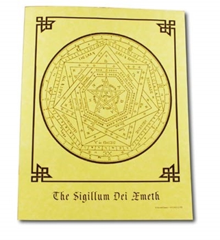 Picture of The Sigillum Dei Ameth - Quick Reference Guide (A4)