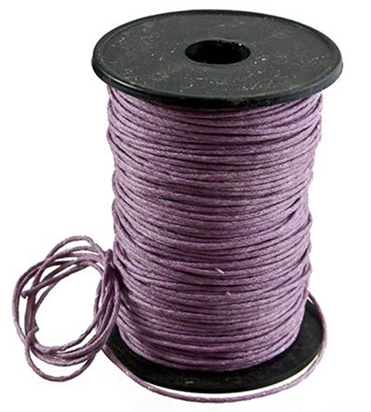 Picture of Cotton Thong (1.5mm) -  Lilac (Per Meter)