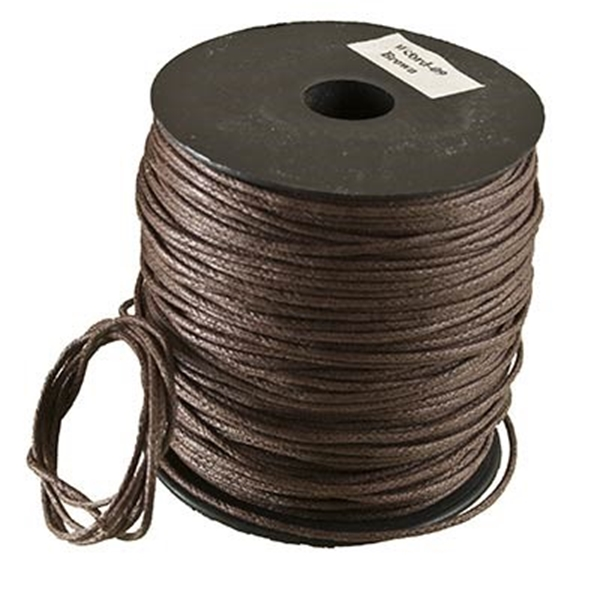 Picture of Cotton Thong (1.5mm) Brown - Per Meter