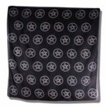 Picture of Altar Cloth Multi Pentacles (24X24 inches)