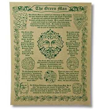 Picture of The Green Man - Quick Reference Poster