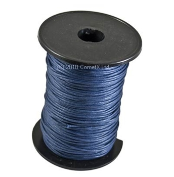 Picture of Cotton Thong (1.5mm) - Dark Blue (Per Meter)