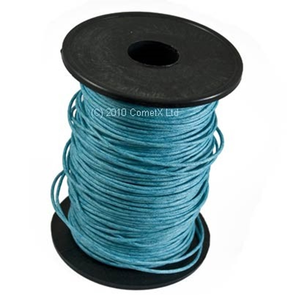 Picture of Cotton Thong (1.5mm) - Turquoise (Per Meter)