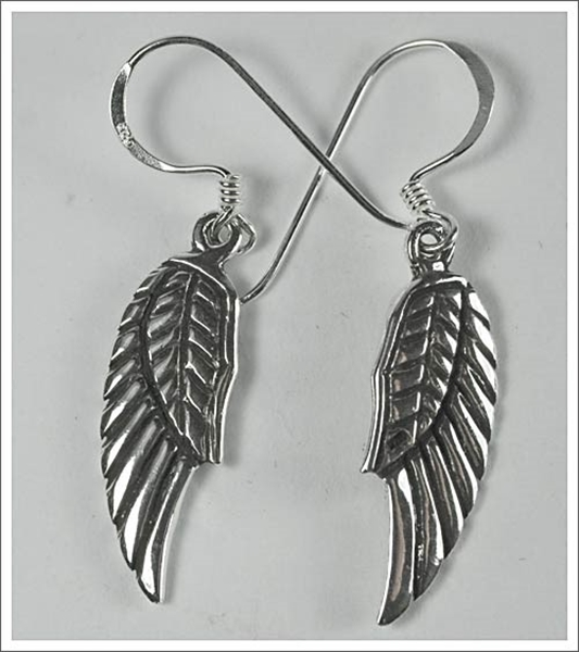 Picture of Angel Wings Earrings (Sterling Silver)