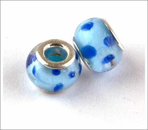 Picture of Pandora Style - BlueDk Blue Spot  (Pk 2)