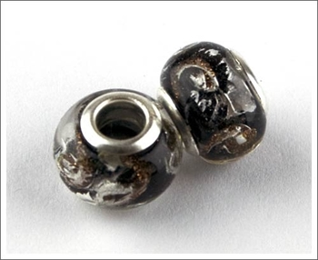 Picture of Pandora Style Bead - GoldSilver Lustre(Pk 2)