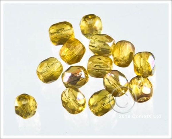 Picture of Topaz (AB) faceted - 4mm (PK 100)