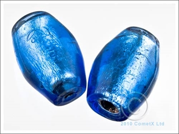 Picture of Glass Barrel (BlueSilver Foil Lined) - PK 5