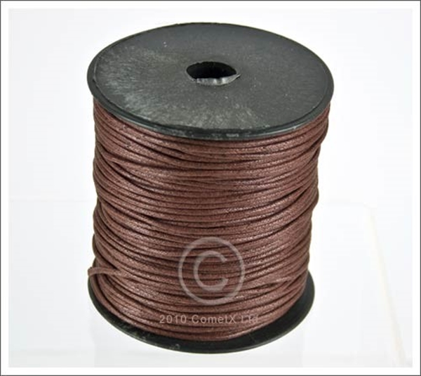 Picture of Cotton Thong (2mm) - Chocolate (Per Meter)